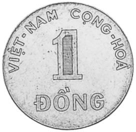 Viet Nam STATE OF SOUTH VIET NAM Dong obverse