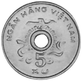 Viet Nam STATE OF SOUTH VIET NAM 5 Xu obverse