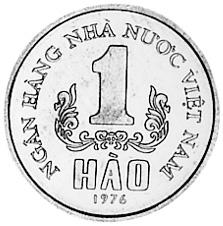 Viet Nam SOCIALIST REPUBLIC Hao reverse