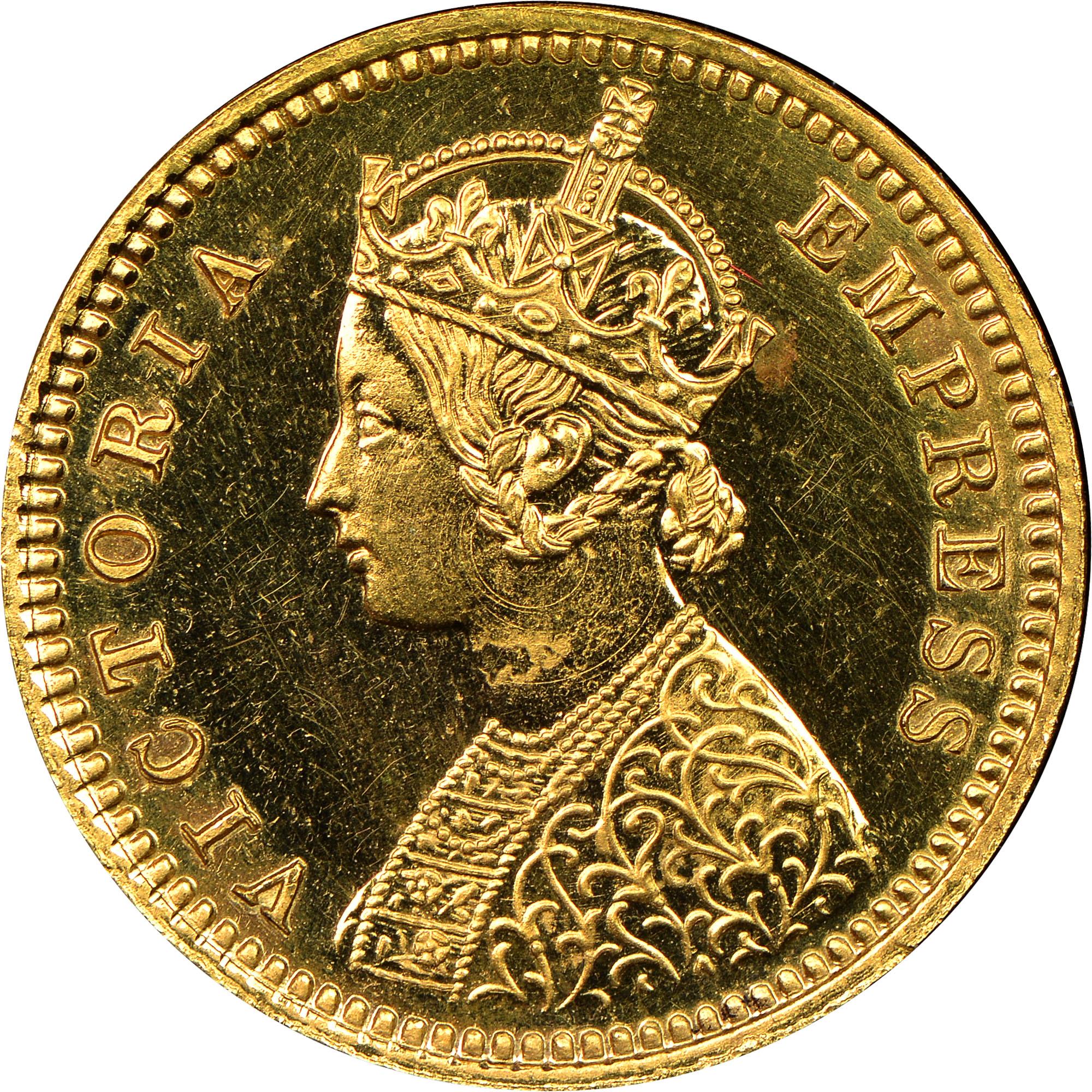India-British 1/12 Anna obverse