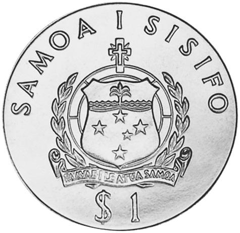 Samoa Tala obverse
