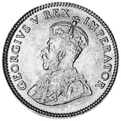 South Africa 6 Pence KM 16.1 P...