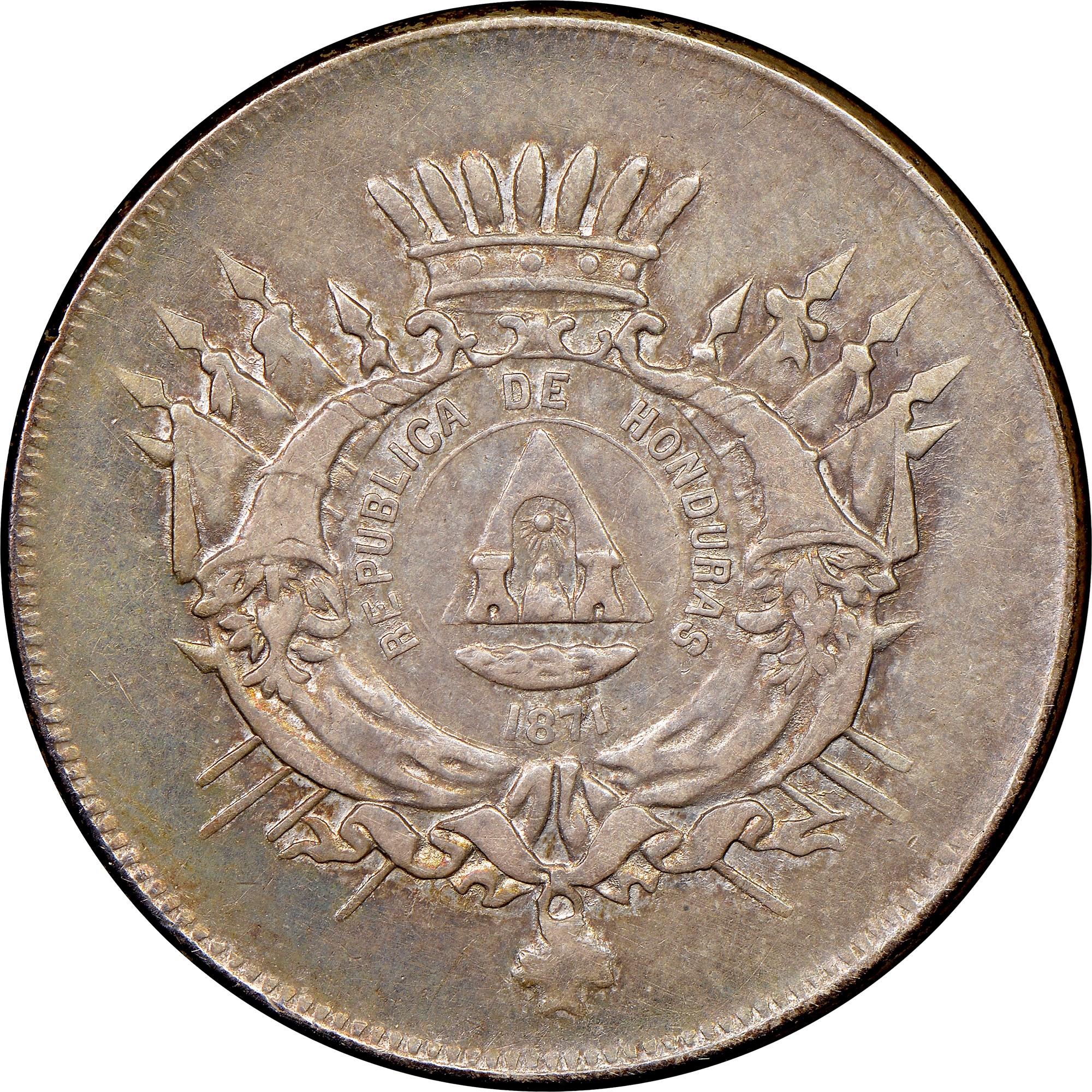 Honduras 50 Centavos obverse