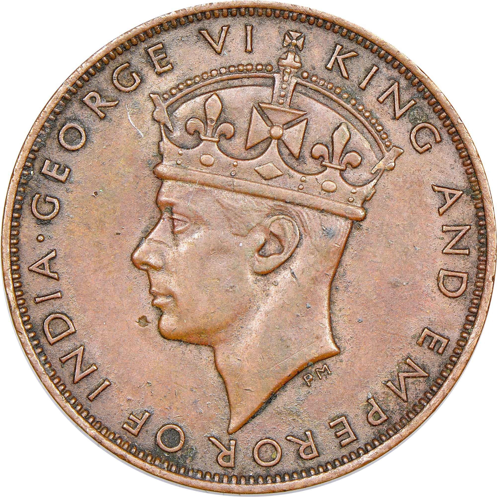 Hong Kong Cent obverse