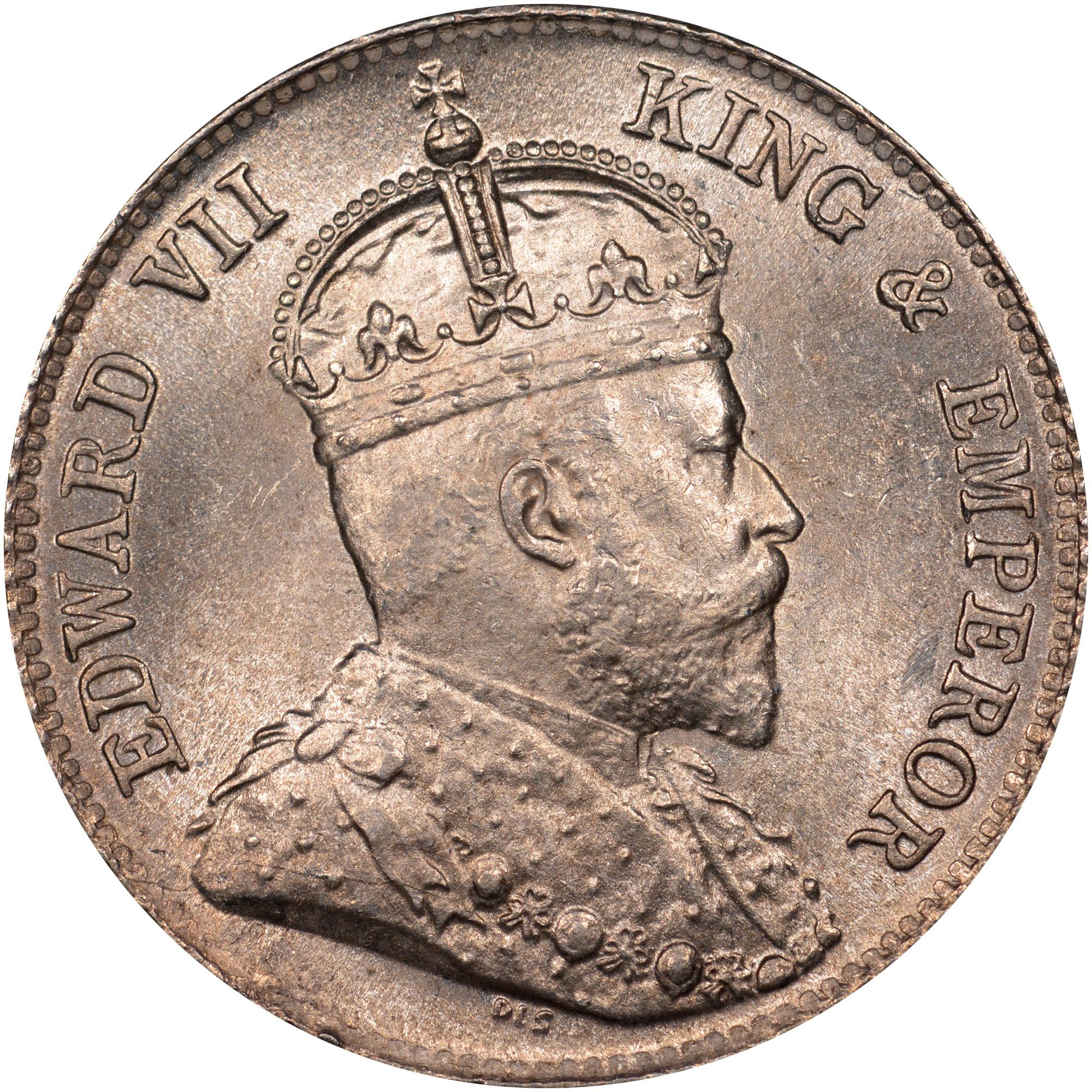 Ceylon 25 Cents obverse