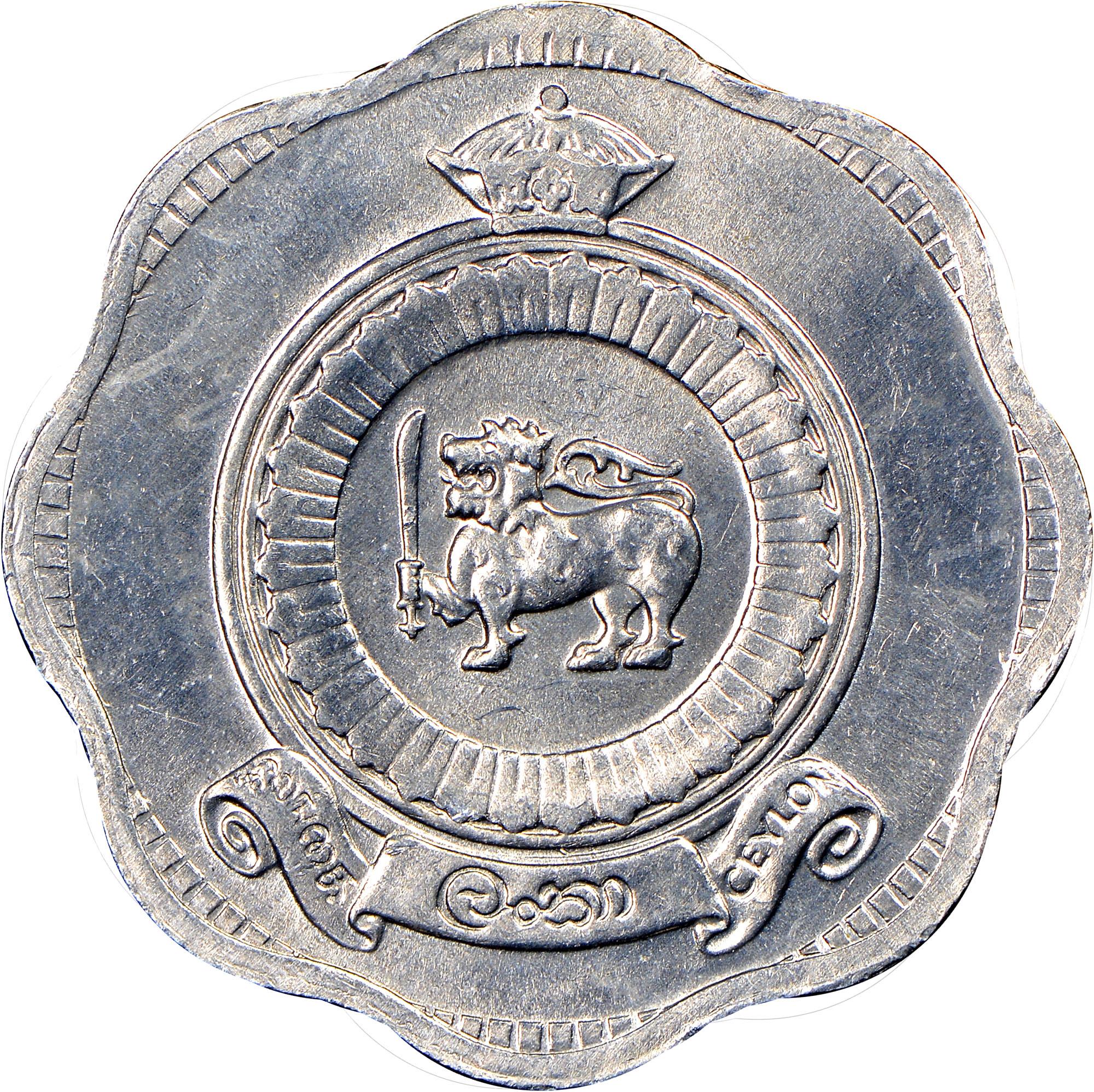 Ceylon 2 Cents reverse