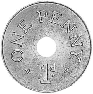 Zambia Penny reverse