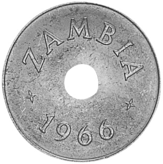 Zambia Penny obverse