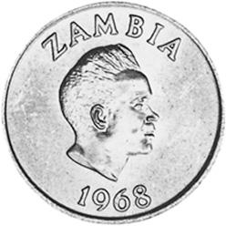 Zambia 2 Ngwee obverse
