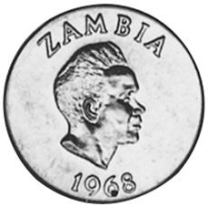 Zambia 5 Ngwee obverse