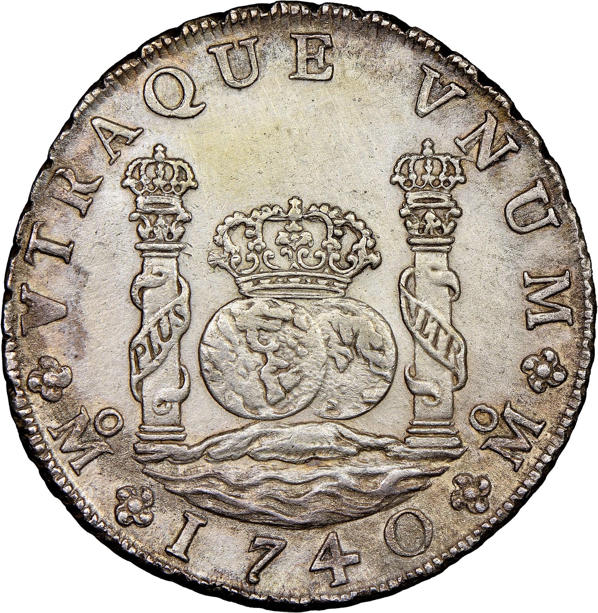 foto de Mexico SPANISH COLONY 8 Reales KM 103 Prices & Values   NGC