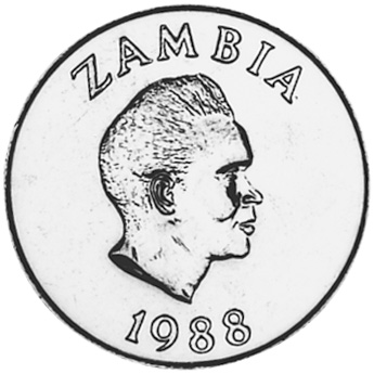 Zambia 20 Ngwee obverse