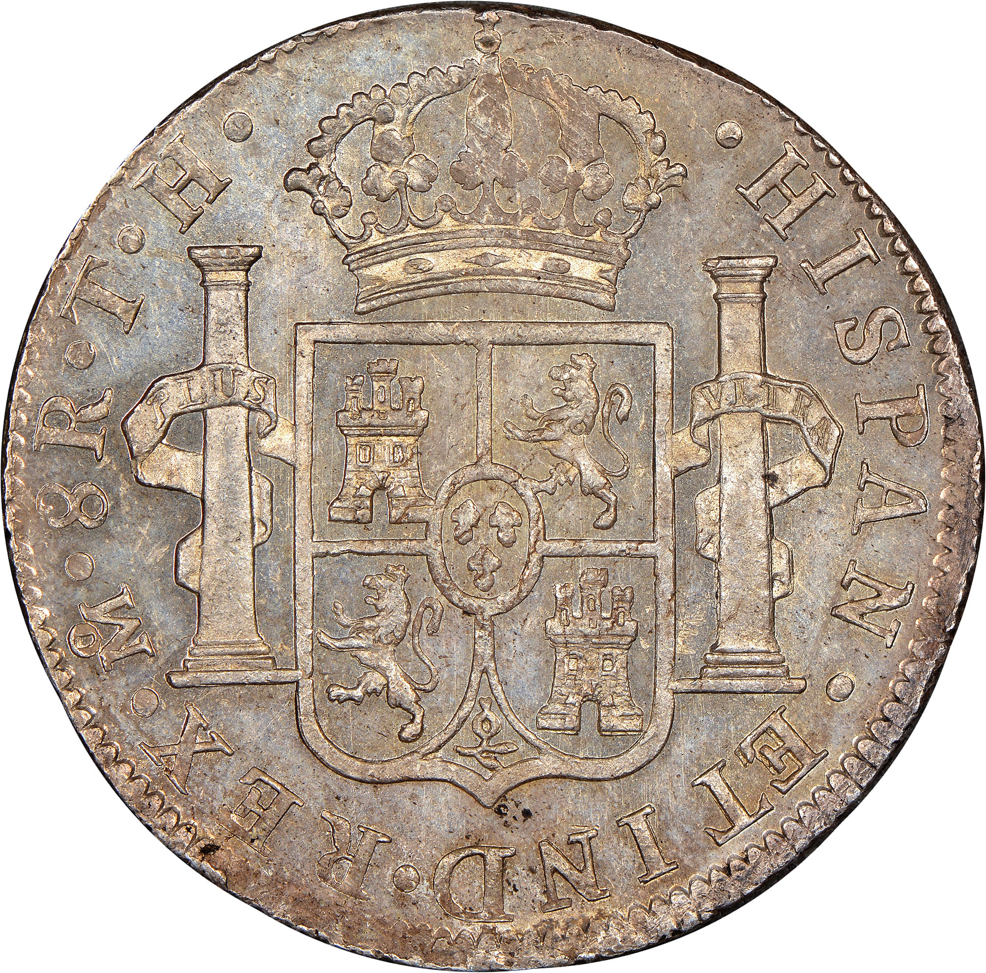 Mexico Spanish Colony 8 Reales Km 109 Prices Amp Values Ngc