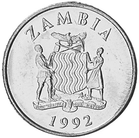 Zambia 50 Ngwee obverse