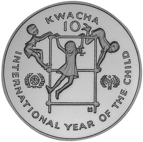 Zambia 10 Kwacha reverse