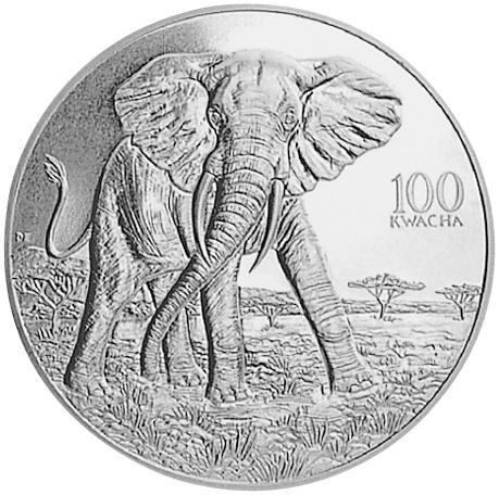 Zambia 100 Kwacha obverse
