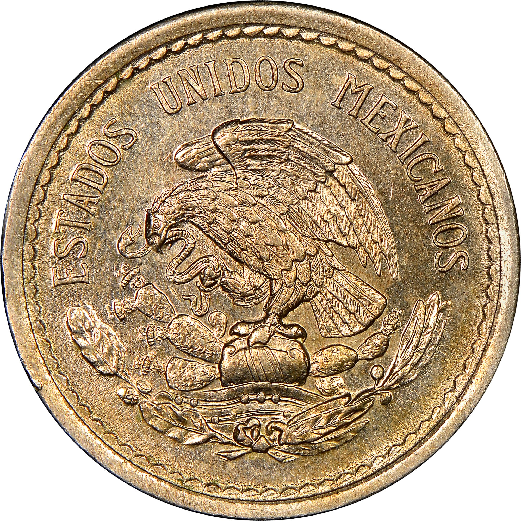 Details about  /MEXICO   5 Centavos  1946   *