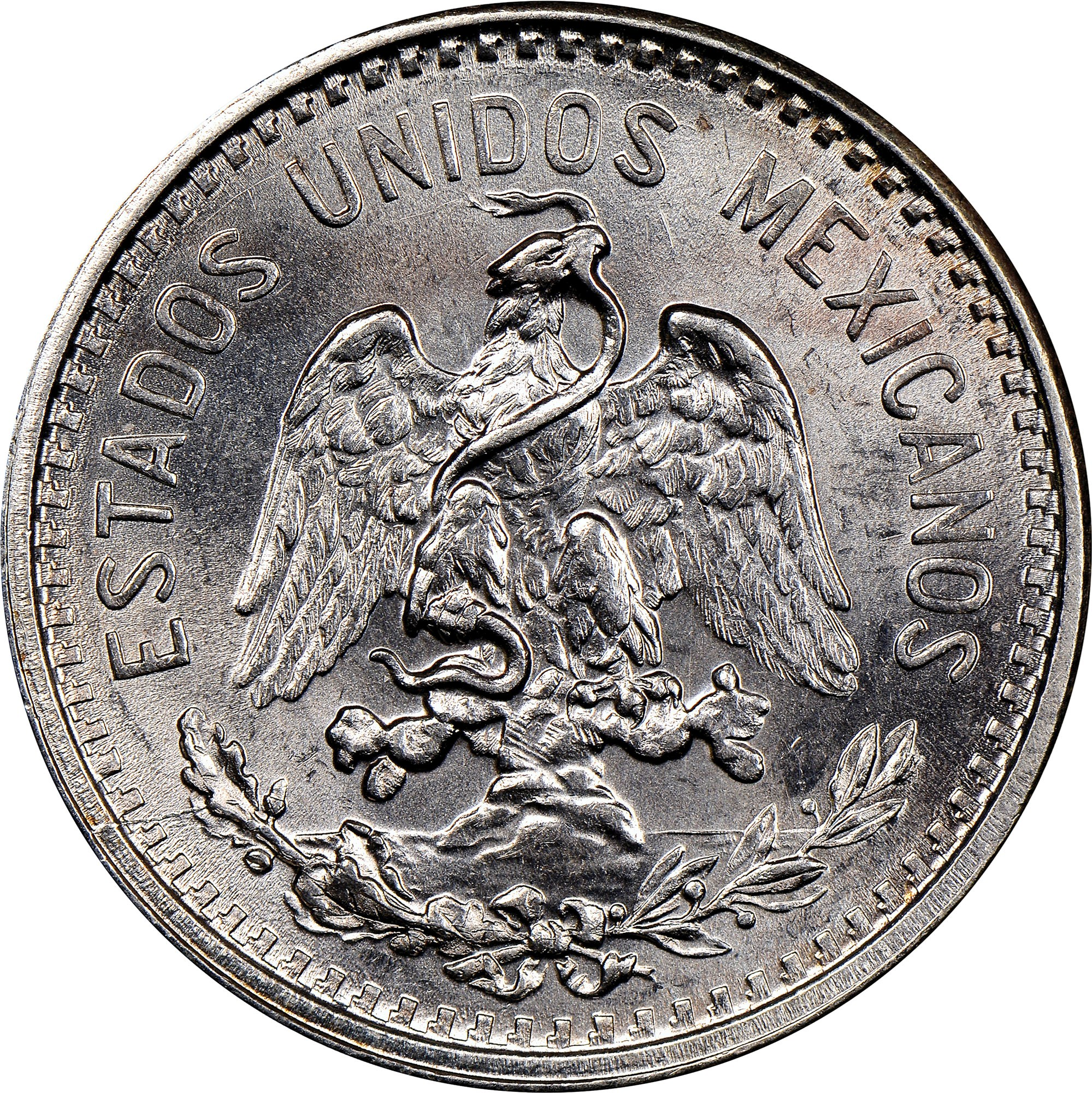 Central America Mexico 20 Cent Silver Coin 1906