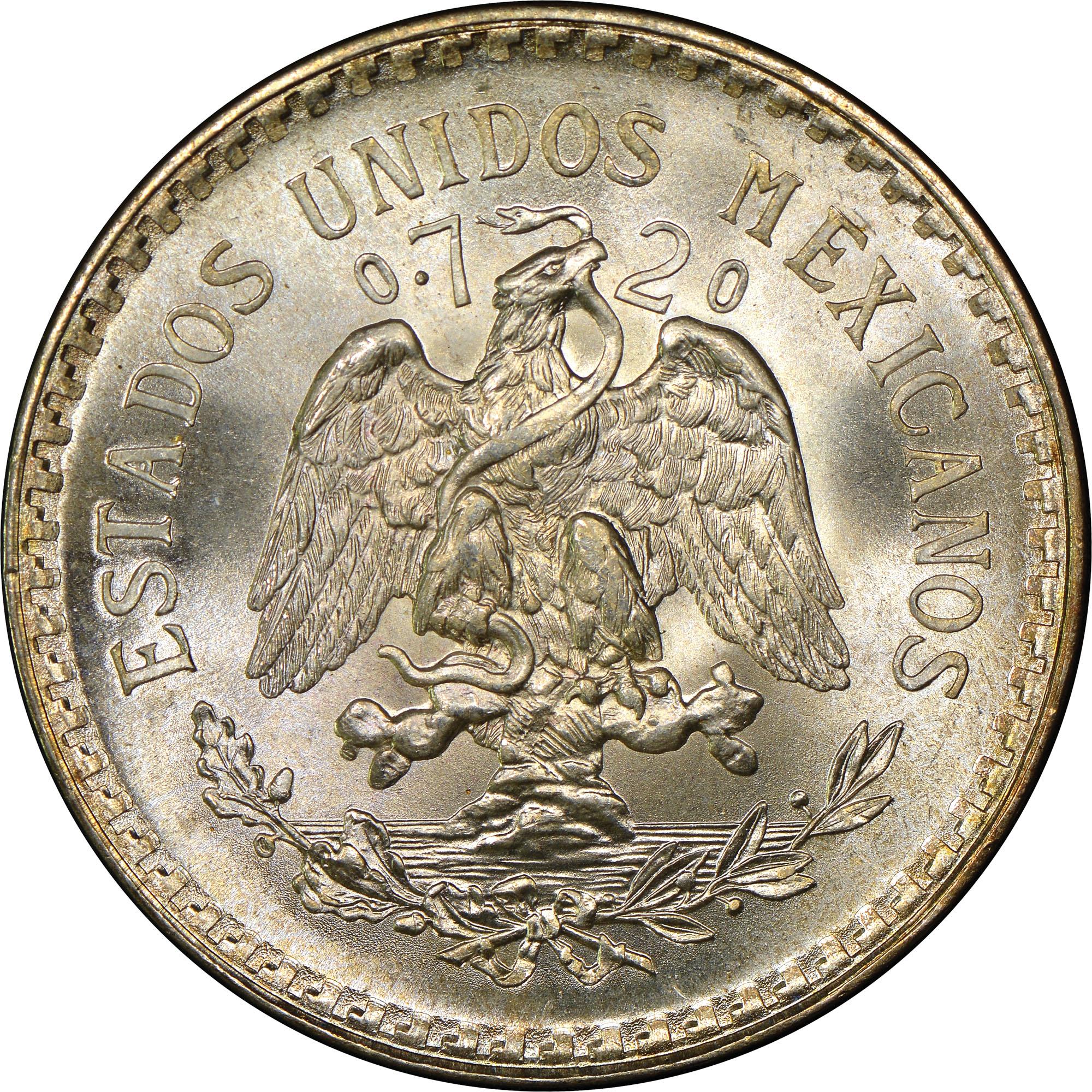 Mexico ESTADOS UNIDOS MEXICANOS Peso KM 455 Prices ...