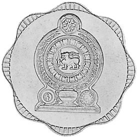 Sri Lanka 10 Cents reverse
