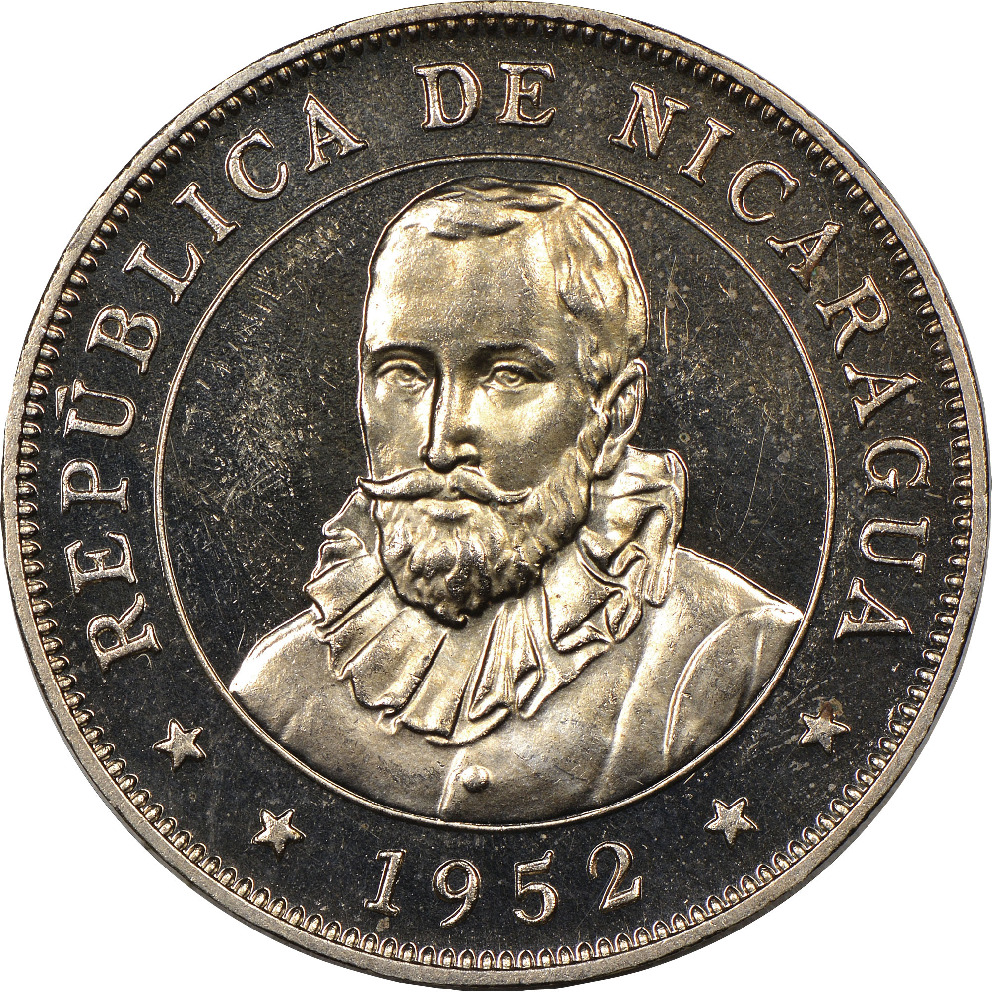 Nicaragua 50 Centavos Km 19 1 Prices Values Ngc