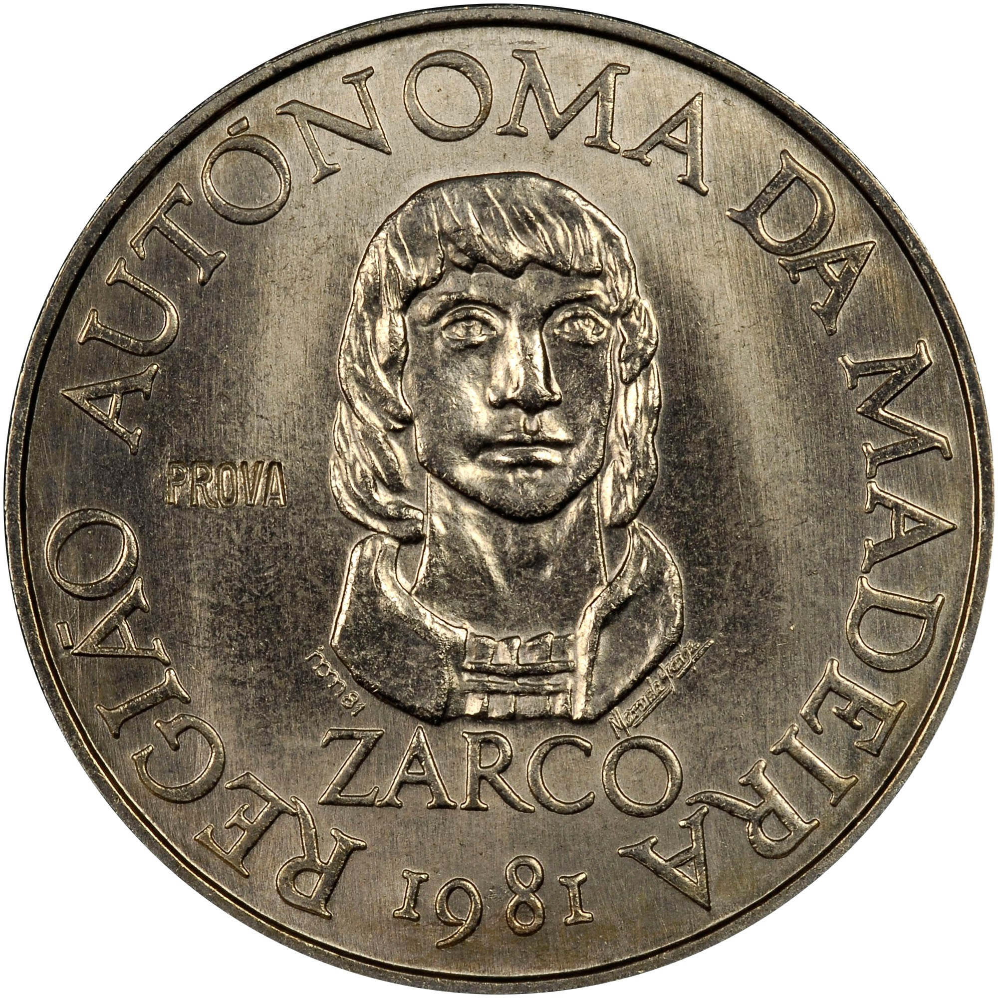 Madeira Islands 100 Escudos reverse