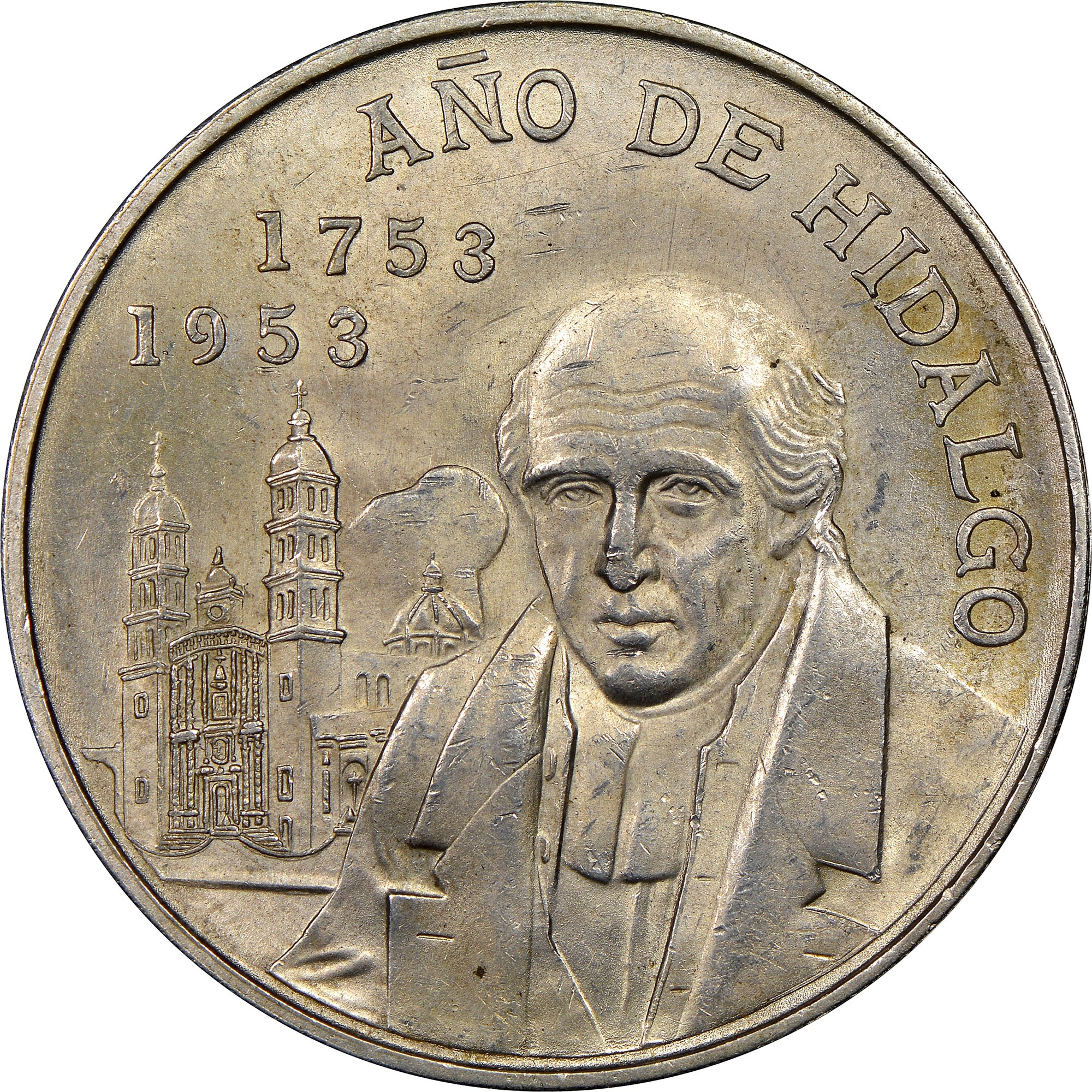 1953 estados unidos mexicanos coin value