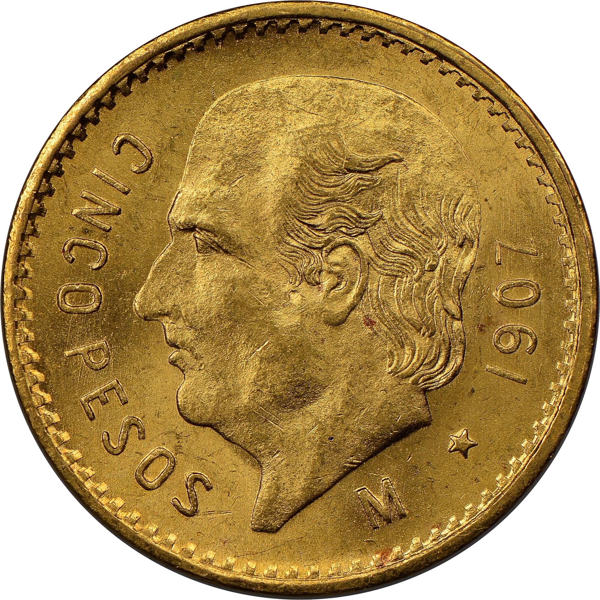 mexico estados unidos mexicanos 5 pesos km 464 prices values ngc rh ngccoin com Silver Eagle Coin Price Guide World Coin Price Guide