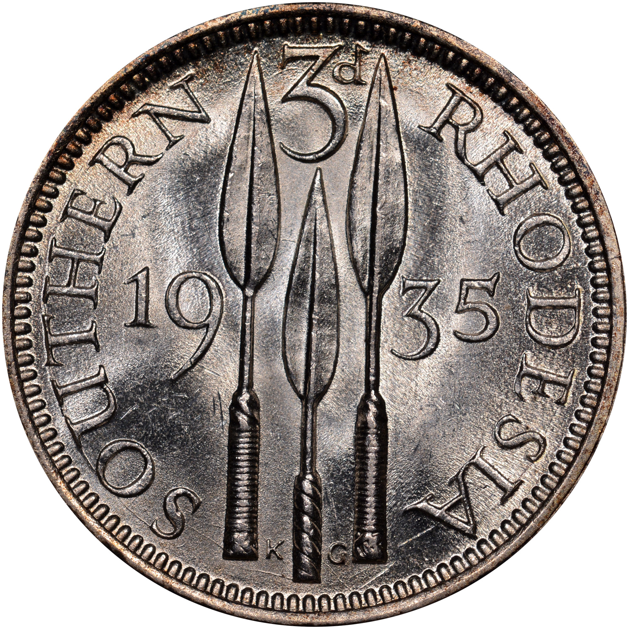 1932 1936 Southern Rhodesia 3 Pence Km 1 Prices Amp Values Ngc
