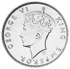Southern Rhodesia 6 Pence obverse