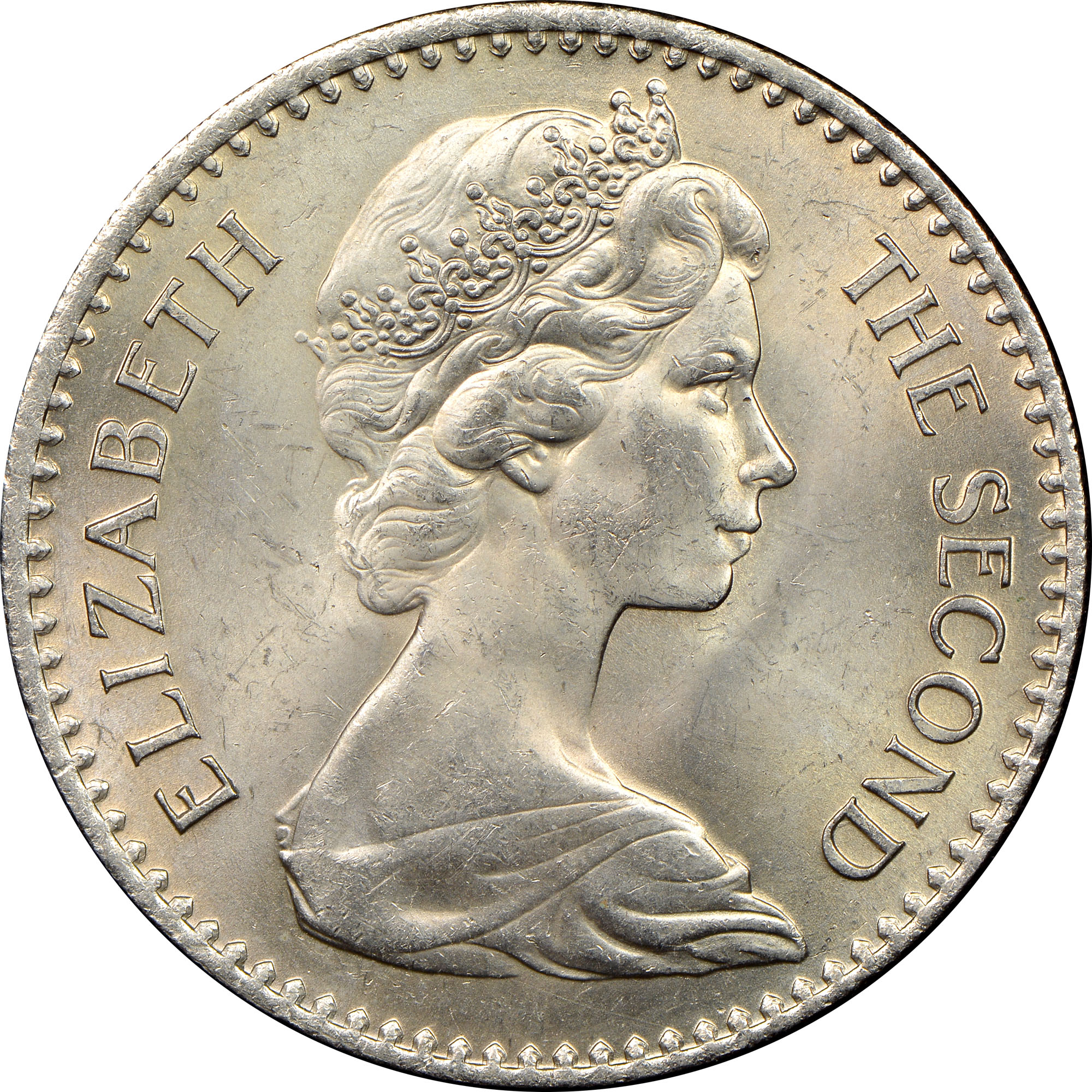 Rhodesia 2-1/2 Shillings = 25 Cents obverse