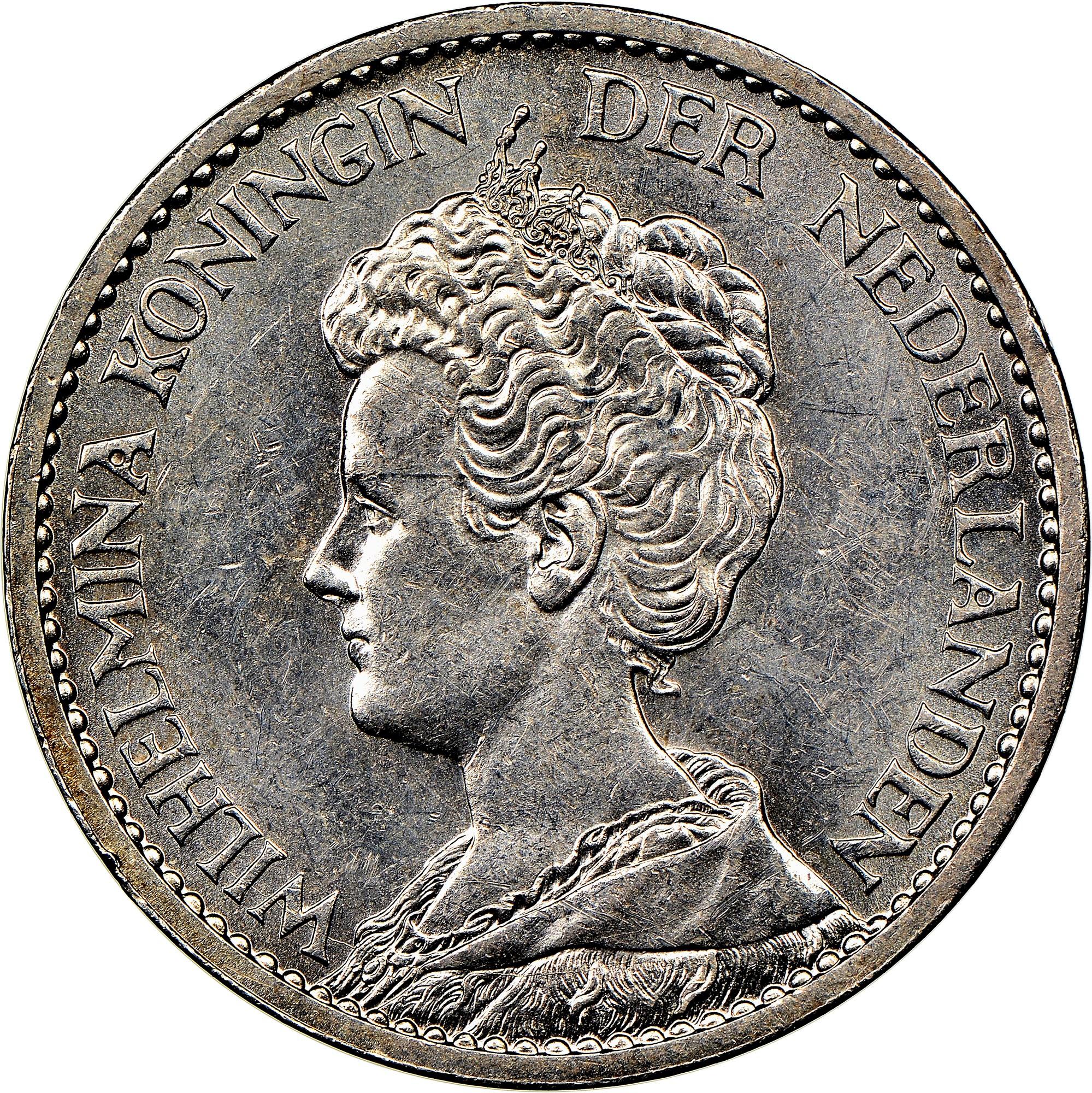 Netherlands Gulden obverse