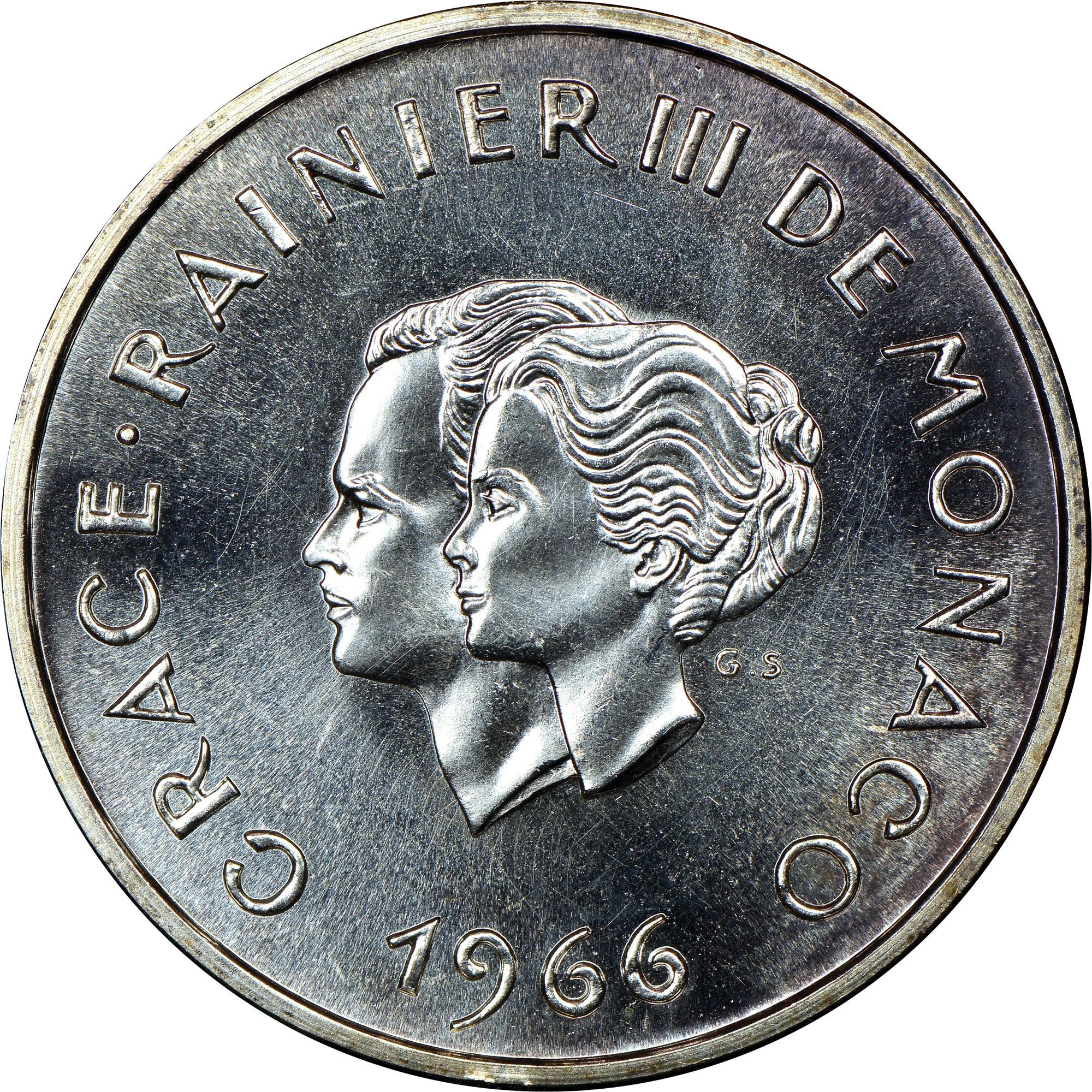 Monaco 10 Francs X M1 Prices Amp Values Ngc
