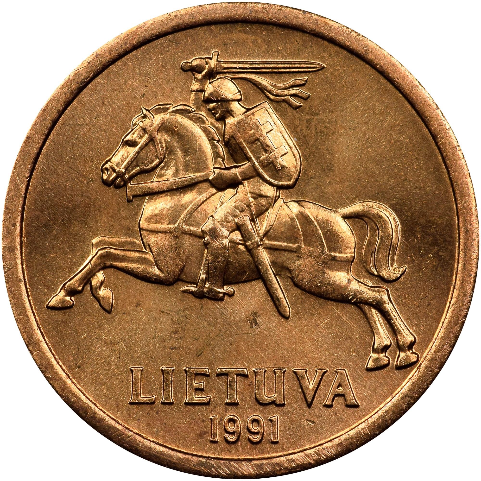 Lithuania 10 Centų obverse