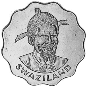 Swaziland 20 Cents obverse