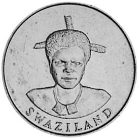 Swaziland Lilangeni obverse