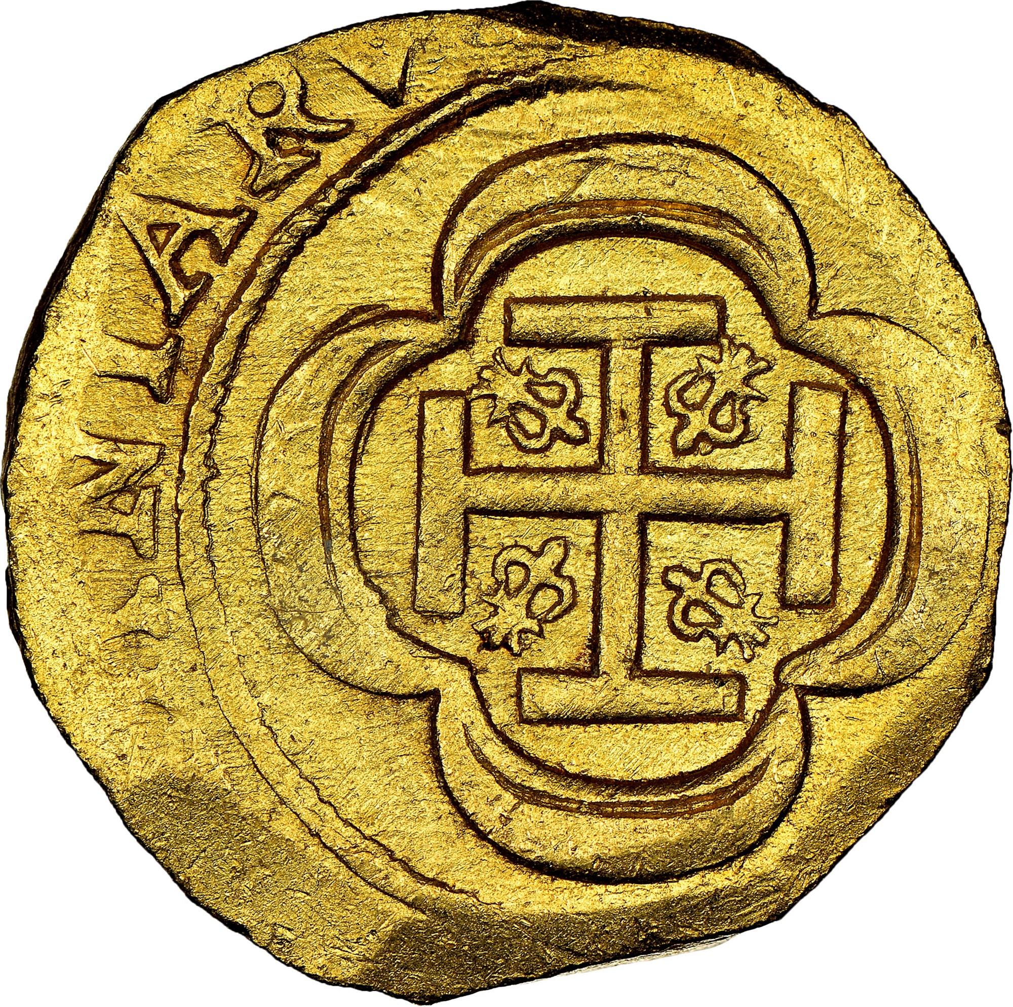 foto de Mexico SPANISH COLONY 4 Escudos KM 55.2 Prices & Values   NGC