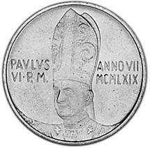 Vatican City Lira obverse
