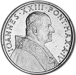 Vatican City 5 Lire obverse