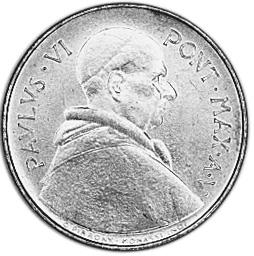 Vatican City 20 Lire obverse