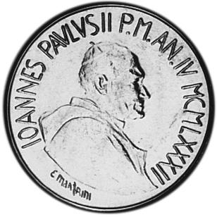 Vatican City 50 Lire obverse