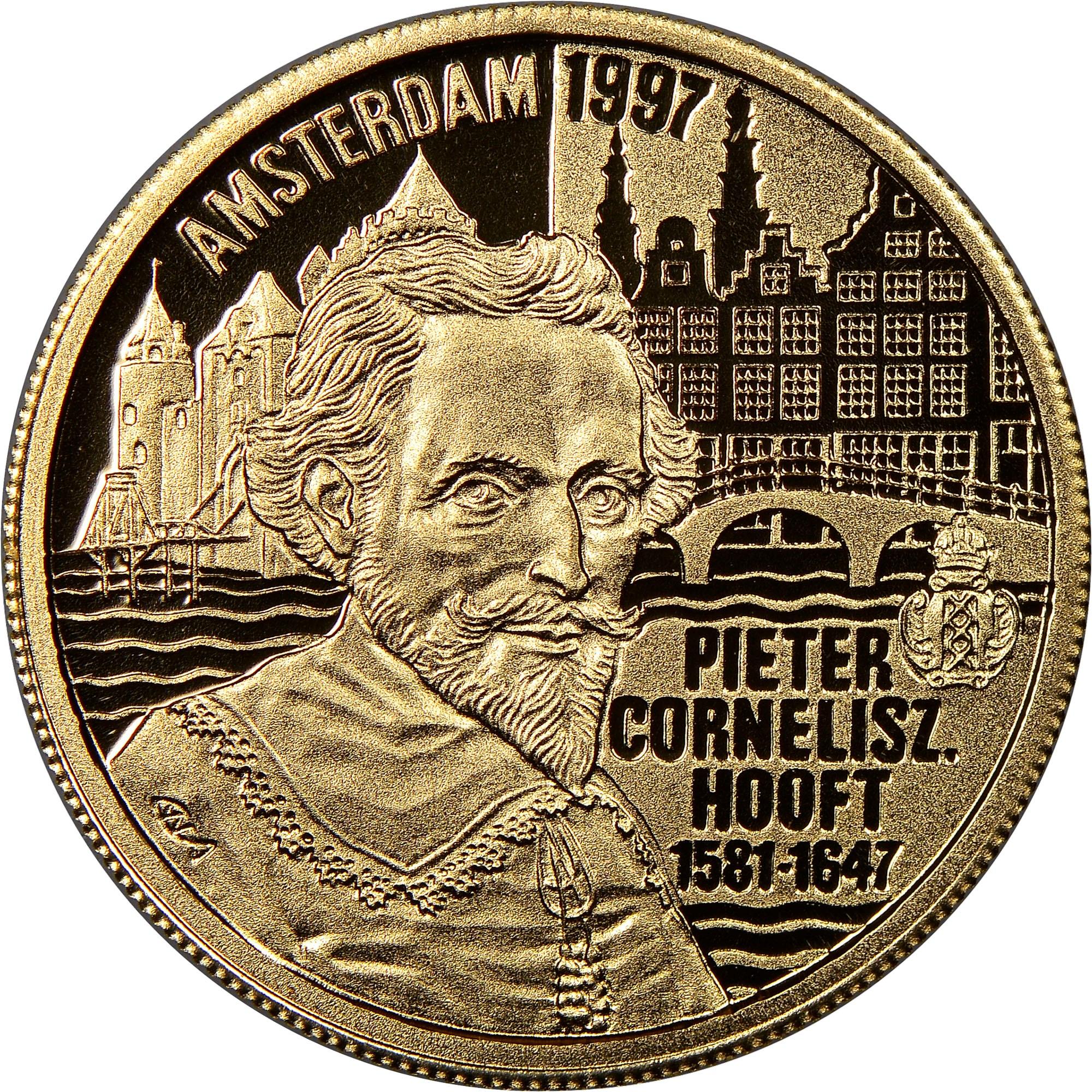 Netherlands 100 Euro reverse
