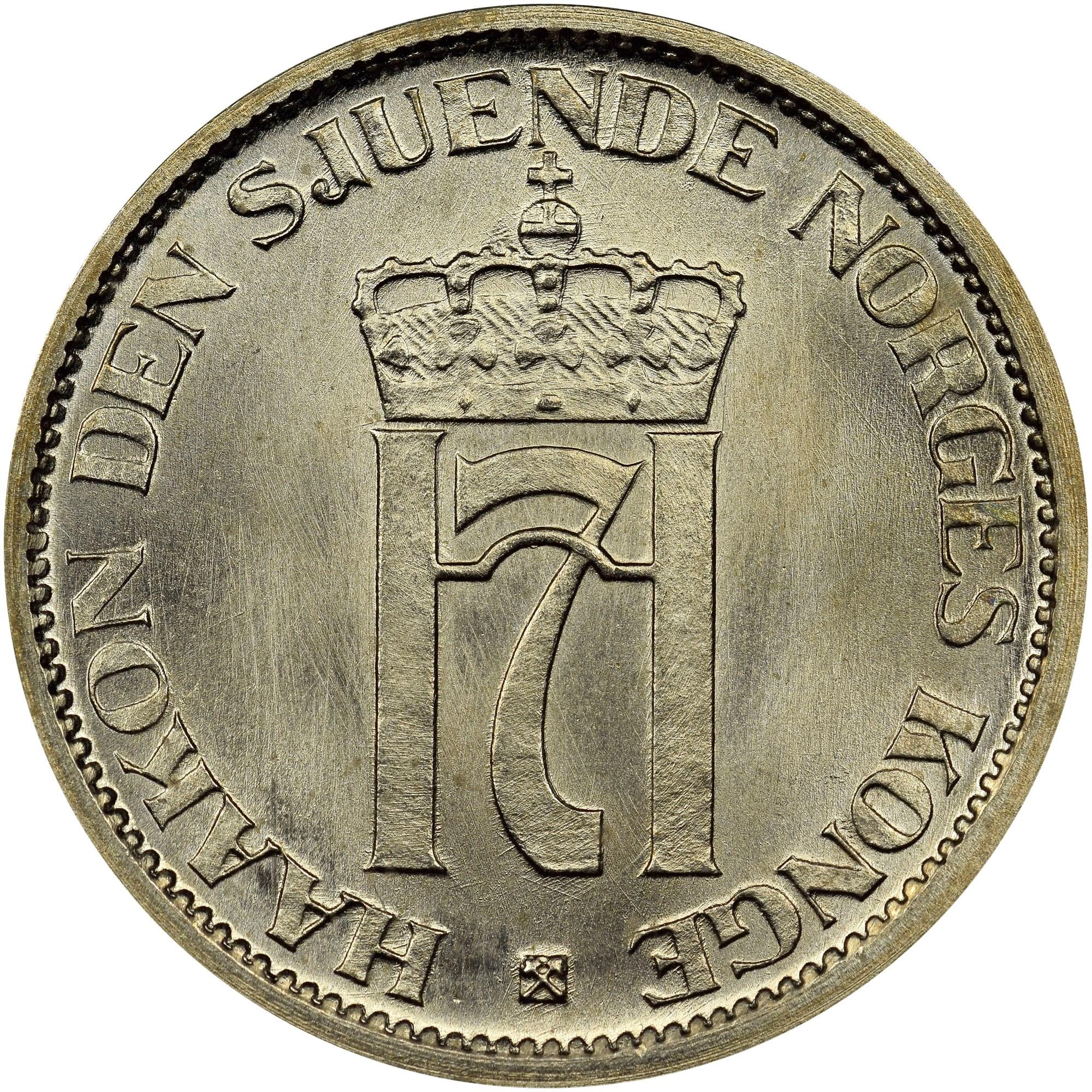 Norway Krone obverse