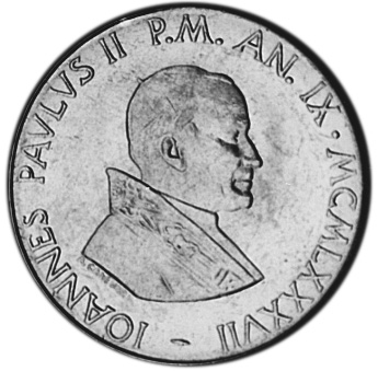 Vatican City 100 Lire obverse