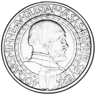 Sweden 2 Kronor obverse