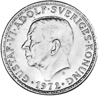 Sweden 5 Kronor obverse