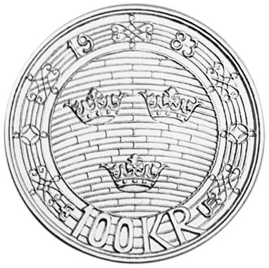 Sweden 100 Kronor reverse