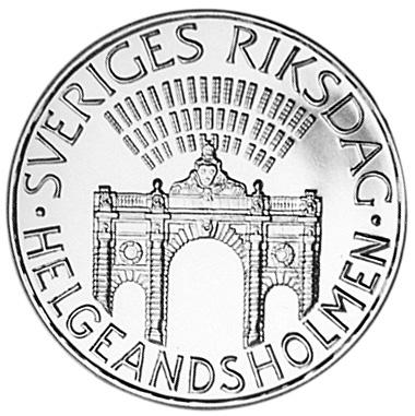 Sweden 100 Kronor obverse
