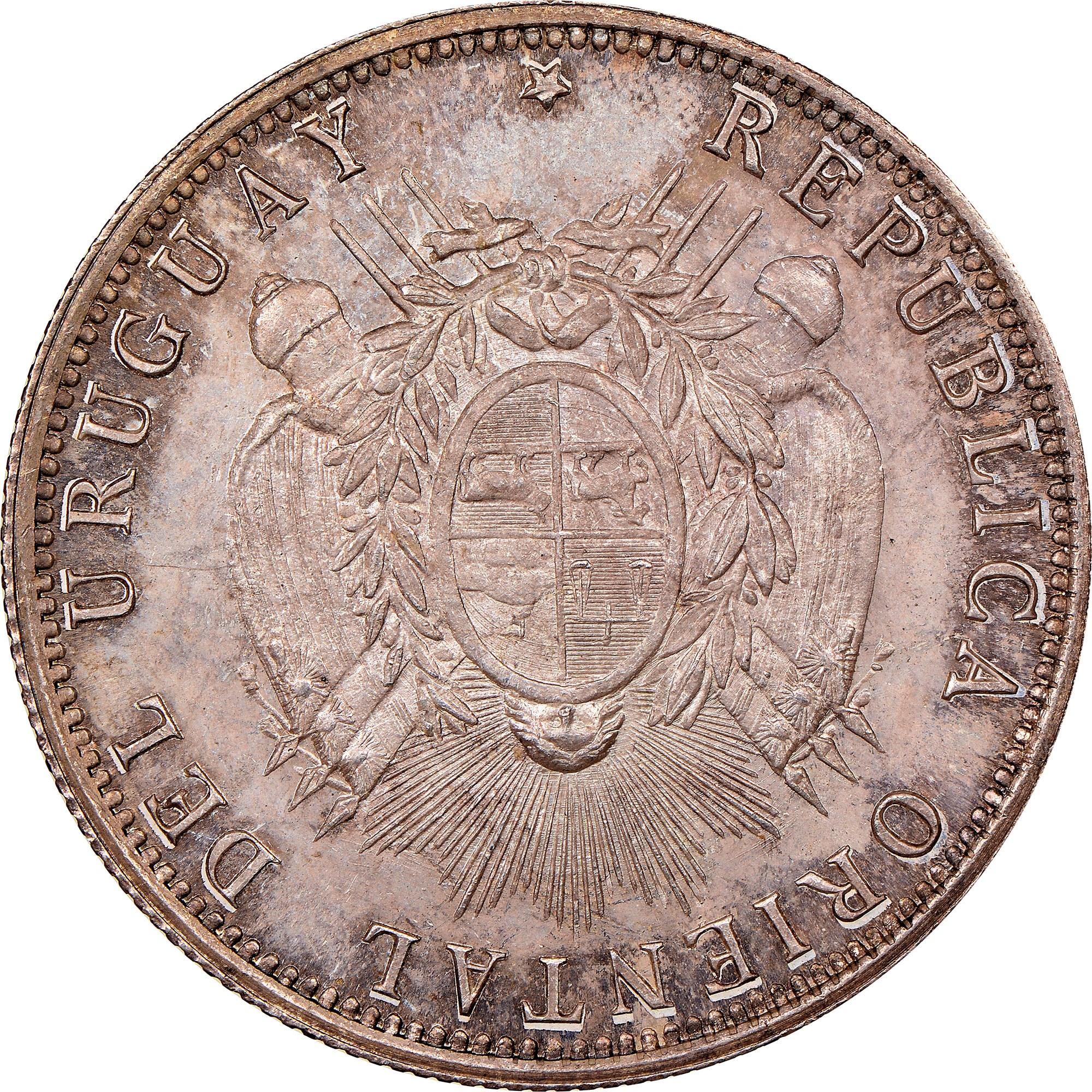 Uruguay 50 Centesimos obverse