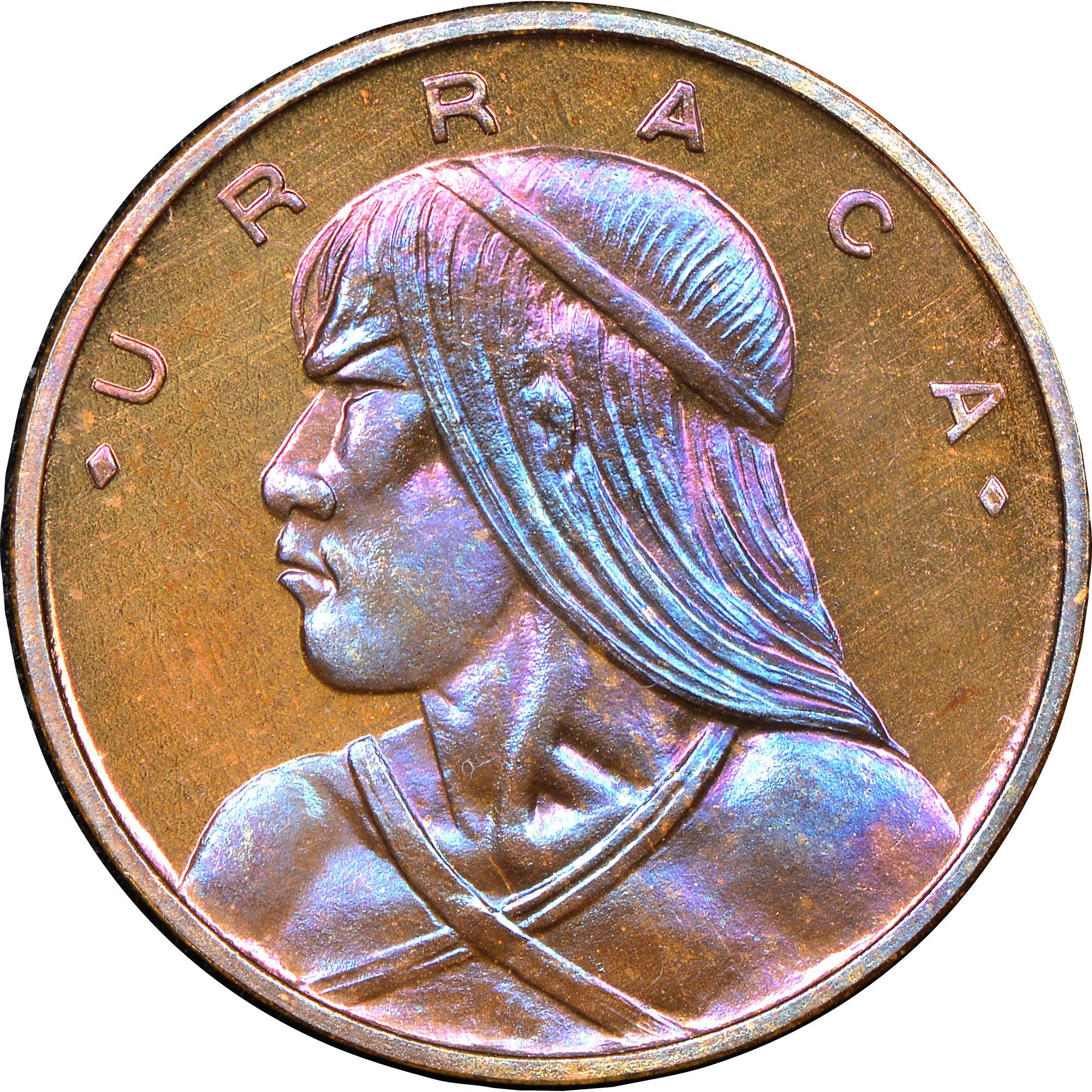 Panama Centesimo KM 22 Prices Values